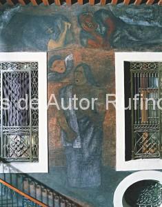Derechos de autor Rufino Tamayo - Pintura mural - El canto y la música - 1933