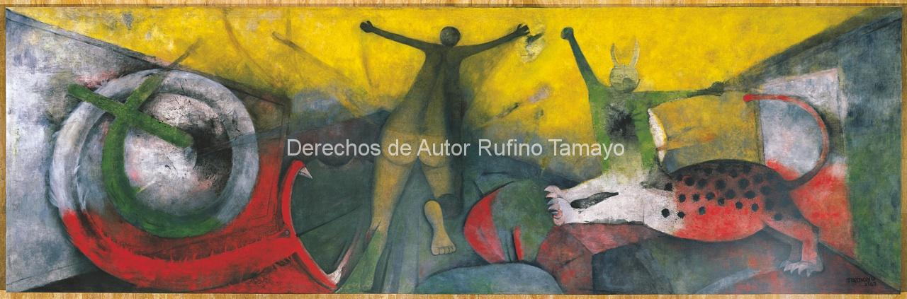 Rufino tamayo mural images galleries for Mural mexicano