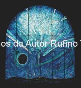 Derechos de autor Rufino Tamayo - Pintura mural - El universo - 1982