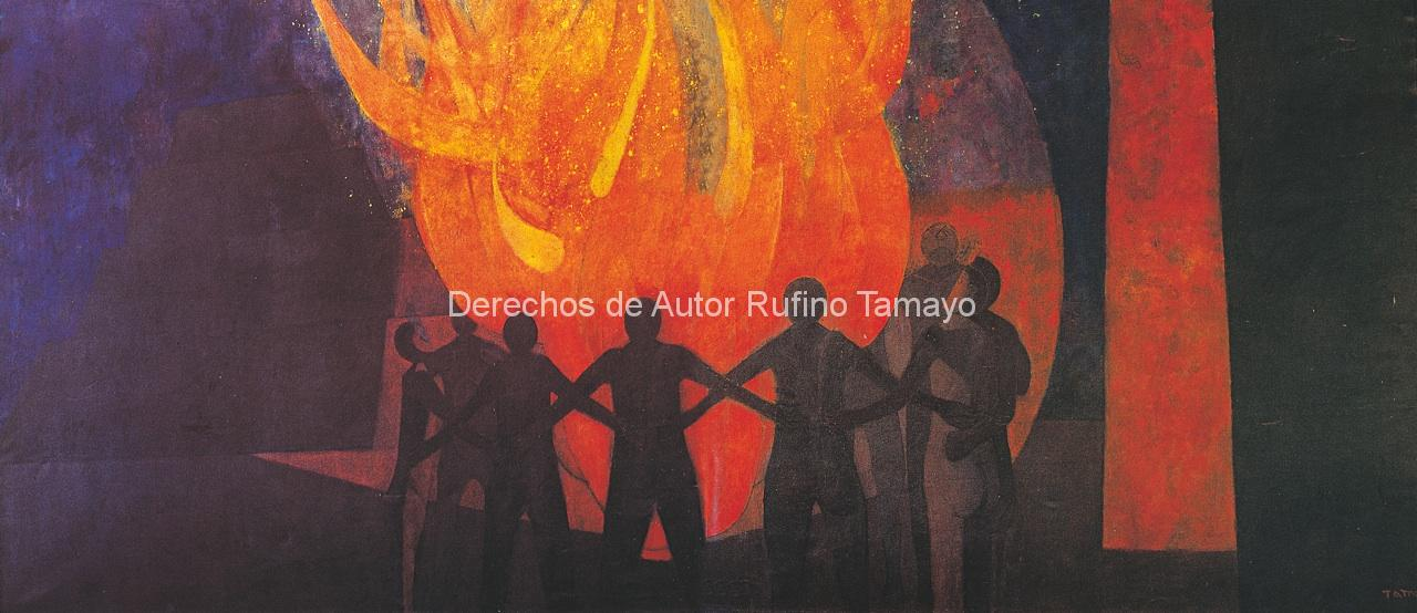 Pin rufino tamayo on pinterest for Mural rufino tamayo