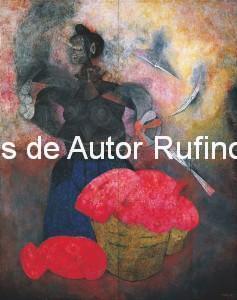 Derechos de autor Rufino Tamayo - Pintura mural - Homenaje a la raza india - 1952