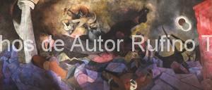 Derechos de autor Rufino Tamayo - Pintura mural - Nacimiento de nuestra nacionalidad - 1952