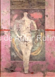 Desnudo o mujer  en blanco, 1976
