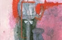 Figura sobre un fondo blanco, 1970