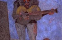 Hombre con guitarra, 1986