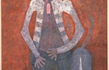 Hombre contra el muro, 1981