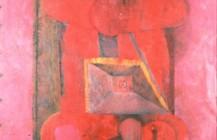 Hombre en rojo, 1970