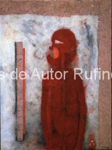 Hombre en rojo, 1976