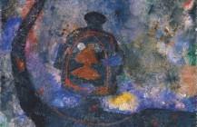 Torso de mujer en negro, 1983
