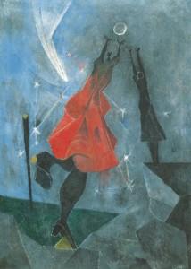 Mujeres alcanzando la luna, 1946