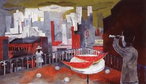 Nueva York desde la terraza, 1937 HD