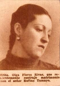 Olga Tamayo en 1930