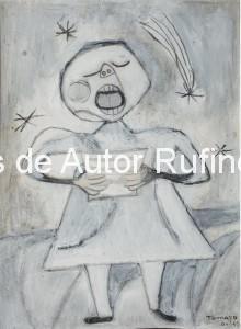 Niña cantando, 1947 E sn dedicatoria bj