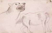 Boceto para el óleo Animales, 1939