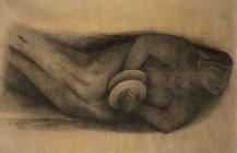 """Boceto para el mural """"El canto y la música"""", 1932"""
