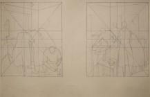 Bocetos 5 y 6 para el mural no realizado en el King´s Hospital Brooklyn NY,1936
