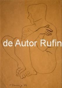 Desnudo femenino con brazos cruzados, 1929 E