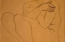 Desnudo femenino con brazos cruzados, 1929