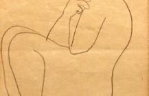 Desnudo femenino de perfil, 1930