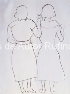 Dos mujeres de espalda, 1930 E