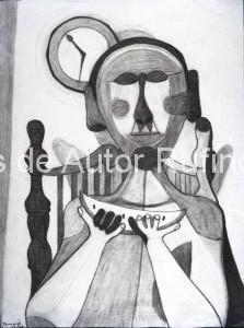 Hombre con sandía, 1944 E