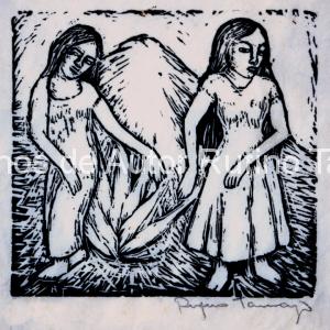 Dos niñas 1925