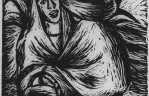 Pareja con maguey, 1925