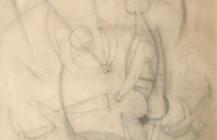 Boceto para el mural «Prometeo», 1958