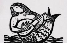 Sirena con mandolina, 1931