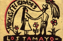 Tarjeta de felicitación, 1930