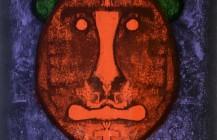 Cabeza en rojo, 1973
