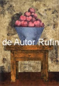Frutero con manzanas, 1981