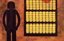 Hombre en la ventana, 1980