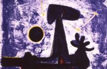 Hombre, luna y estrellas, 1950