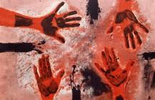 Manos en rojo, 1979