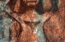 Mujer con los brazos en alto, 1976