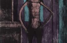 Mujer con mallas negras, 1969