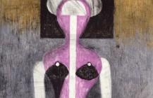Mujer con sombrero, 1972