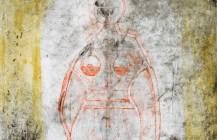 Mujer en rojo, 1969