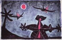 Observador de pájaros, 1950