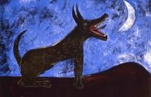 Perro de luna, 1972
