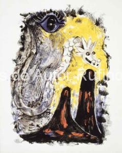 Sin título (Ojo y serpiente) 1952 E