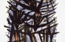 Tres aves y el sol, 1952