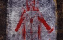Hombre en rojo, 1985