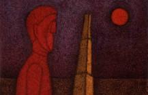 Figura en rojo, 1989