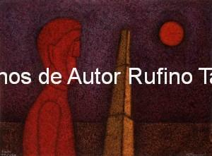 Tamayo, Rufino-Figura en rojo, 1989