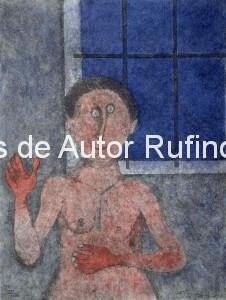 Tamayo, Rufino-La coqueta, 1989
