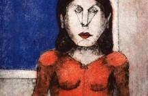 Mujer enojada, 1989
