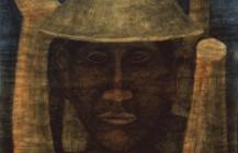 Hombre con sombrero, 1940