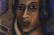 Mujer con la mano en la mejilla, 1928